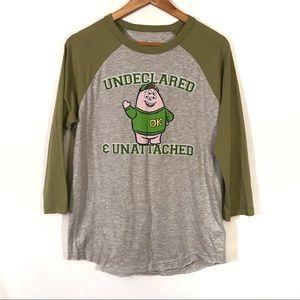 Disney Monsters University Raglan T Shirt